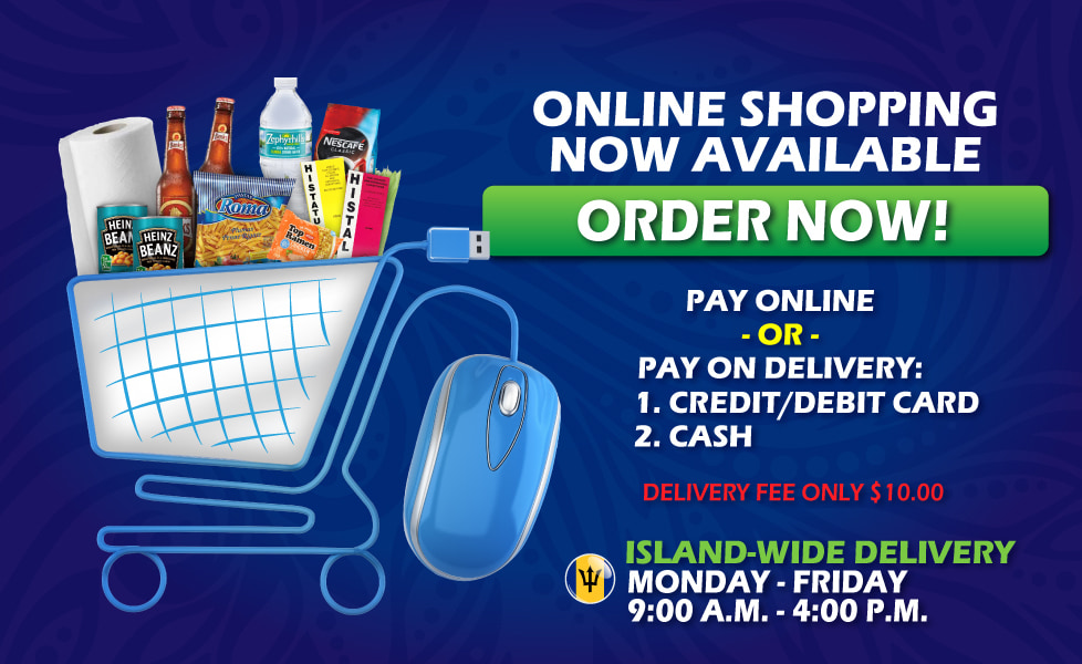 Online shopping now available - Order now!